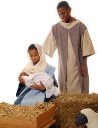 Nativity Costume Shepherd Wiseman Mary