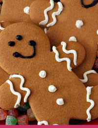 Gingerbread Gingerbread Men Fudge